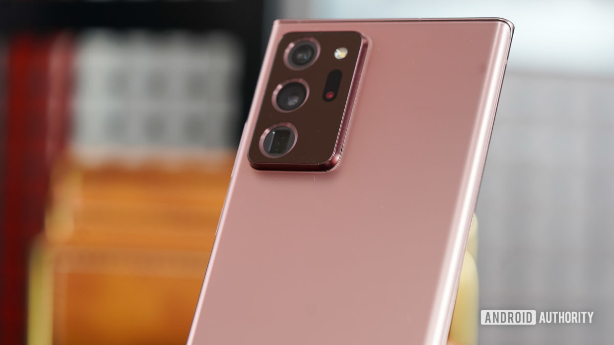 Samsung Galaxy Note 20 Ultra camera profile