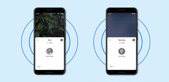 Android's file sharing Nearby Share is now live