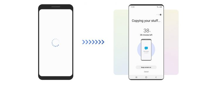 How to migrate data to a Samsung phone