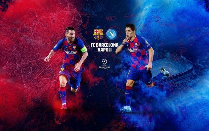 How to watch Barcelona vs Napoli Champions League live stream