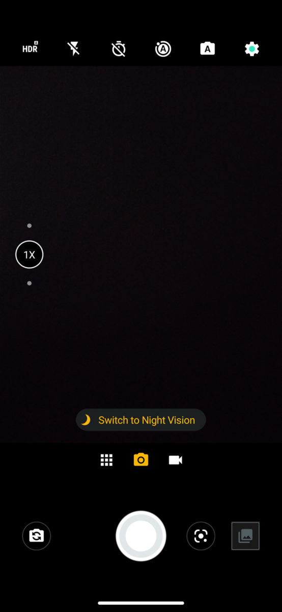Motorola Moto Edge Camera UI