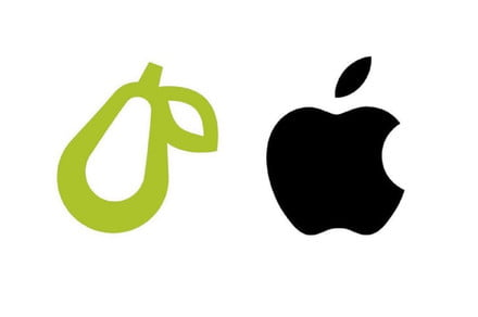 Apple launches legal action against meal plan app over pear logo
