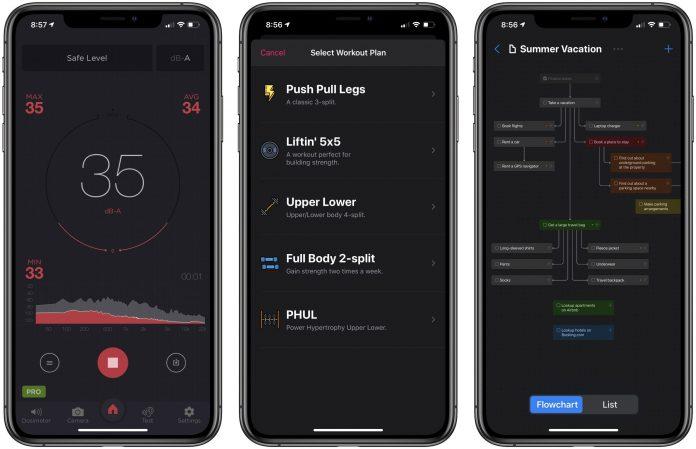 App Recap: Decibel, Liftin' Workout Tracker, Taskheat and Major App Updates