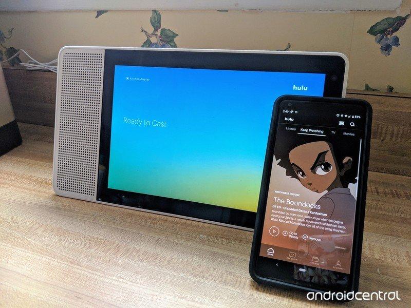 hulu-chromecast-android-lenovo-smart-dis