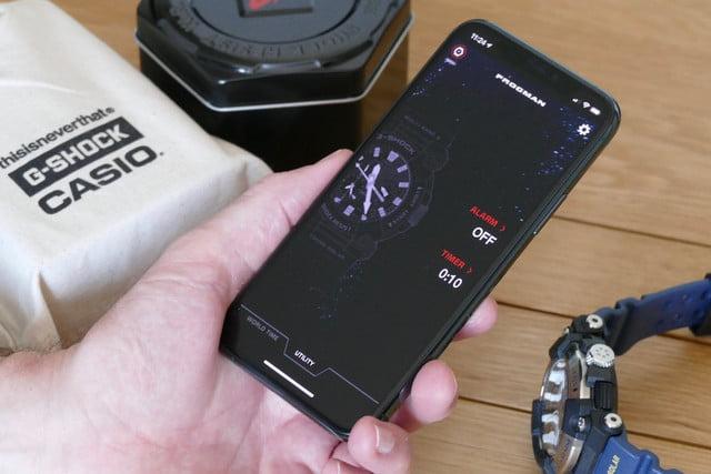 casio g shock gwf a1000 frogman review app alarm