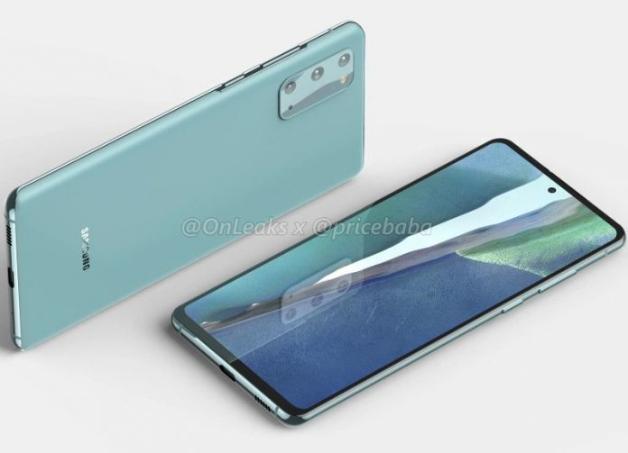 Leaked Galaxy S20 FE 5G renders show the phone in all its glory