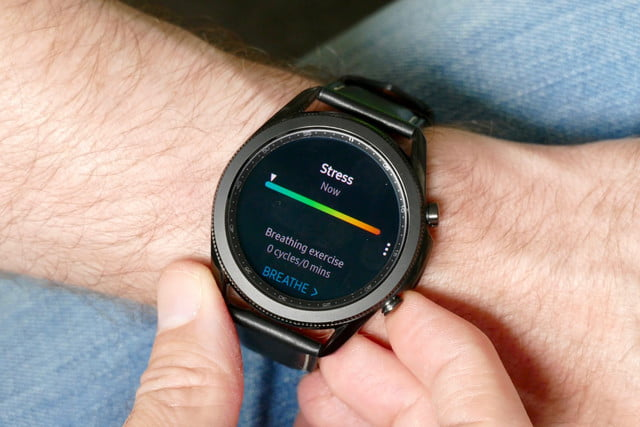 samsung galaxy watch 3 review stress