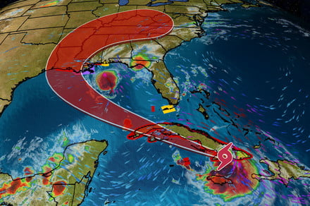 Best hurricane trackers for two severe storms now approaching Gulf Coast