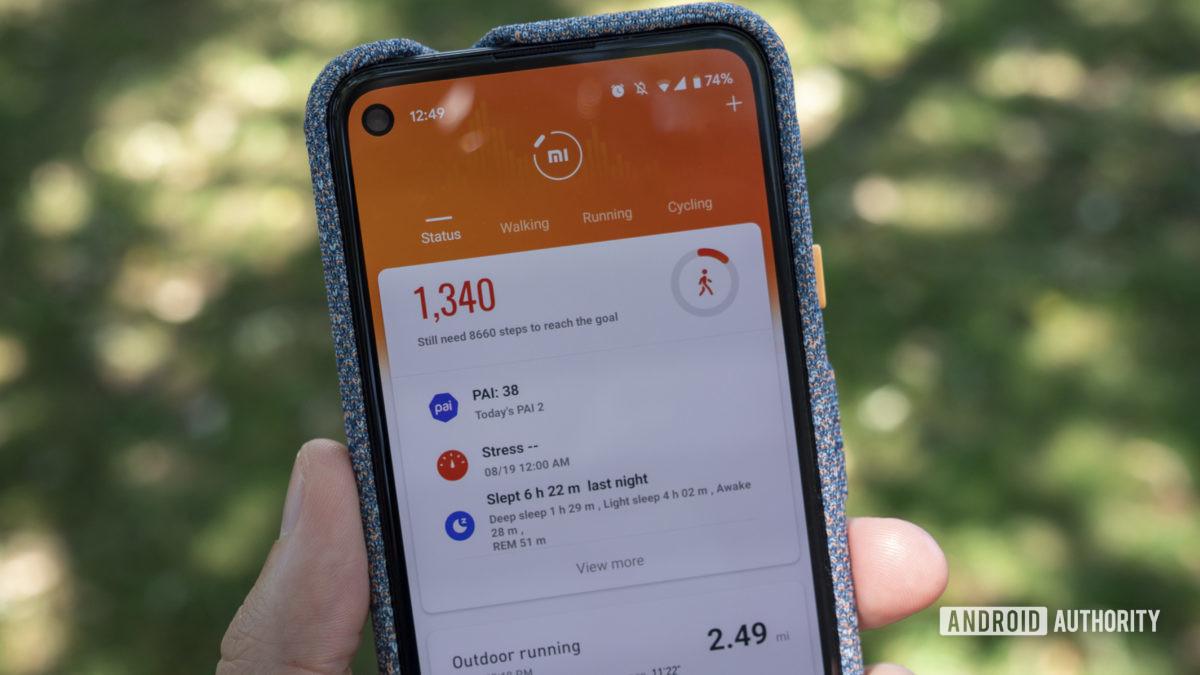 xiaomi mi band 5 review google pixel 4a xiaomi mi fit app