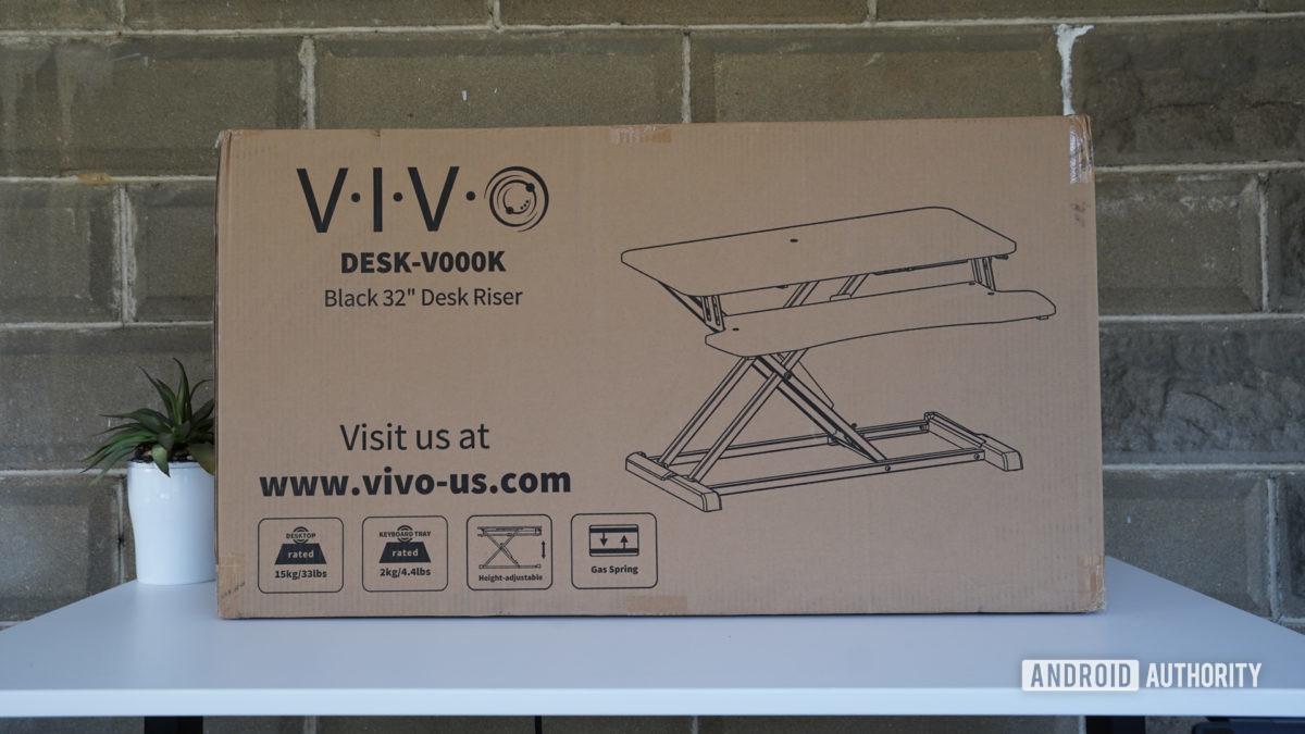 Vivo Desk V000K Desk Riser box
