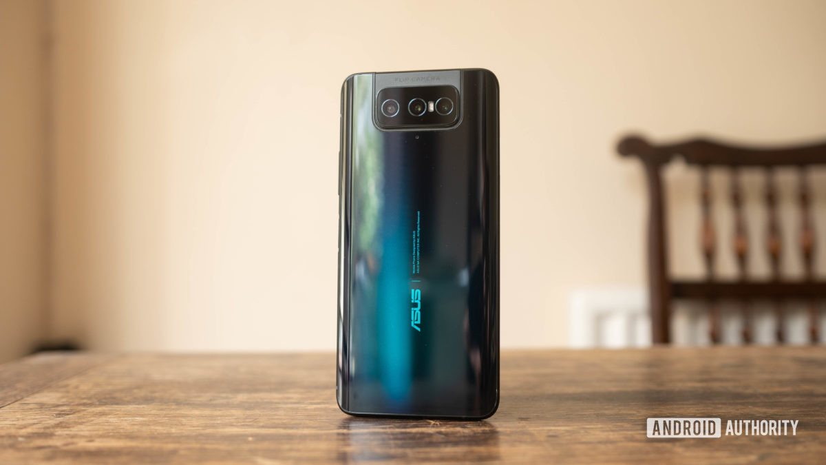 Asus Zenfone 7 rear hero shot