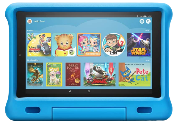 Amazon's larger Kids Edition Fire Tablet is worth the extra money