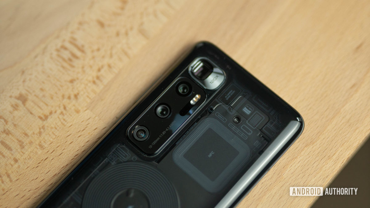 Xiaomi Mi 10 Ultra transparent edition camera housing