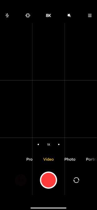 Xiaomi Mi 10 Ultra camera app video mode