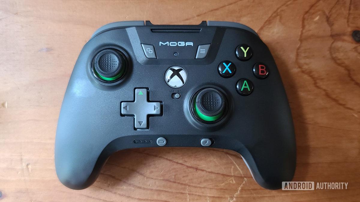 Moga XP5 X Plus Review Controller Top Down