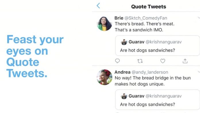 Twitter Makes Retweets With Comments Easier to Find