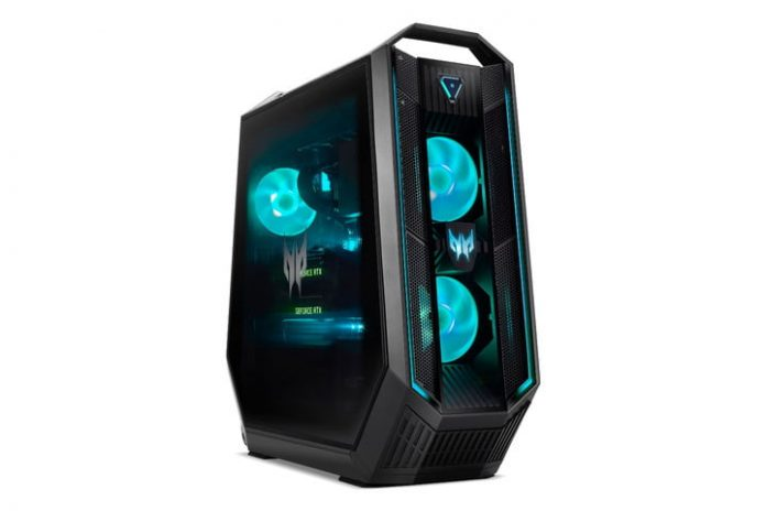 Acer unleashes Orion desktops with RTX 3090, Predator X25 360Hz gaming monitor