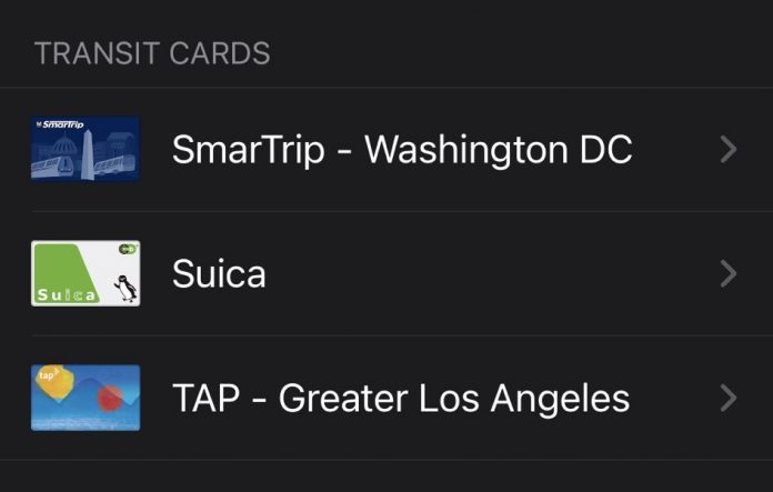 LA Metro's TAP Card Now Supports Apple Pay With Express Transit Mode