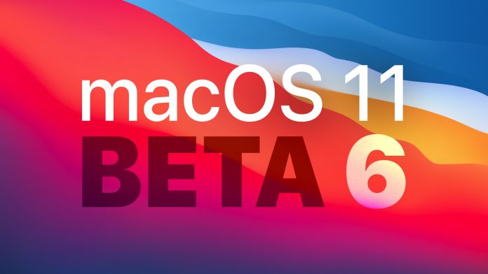 Apple Releases Sixth Beta of macOS Big Sur to Developers