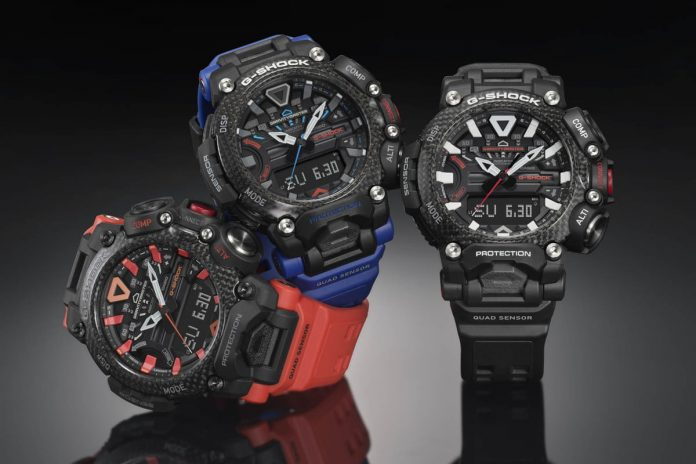 Striking new G-Shock Gravitymaster watch is styled like an aircraft's joystick