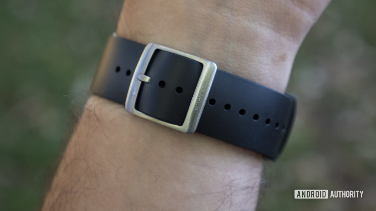 withings scanwatch review fkm strap