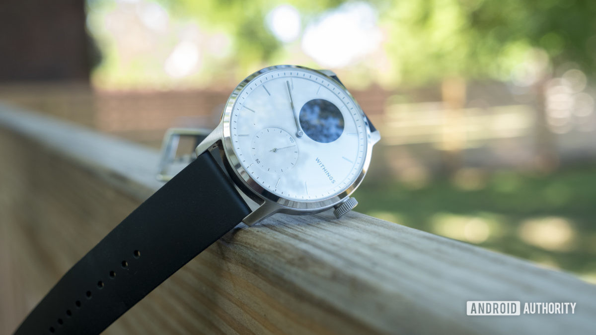 withings scanwatch review clock face design 3