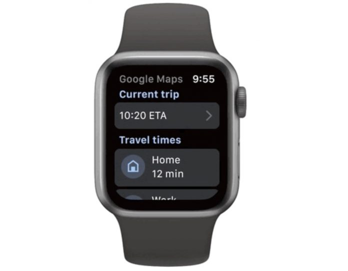 Google Maps for Apple Watch Now Live With Latest Update