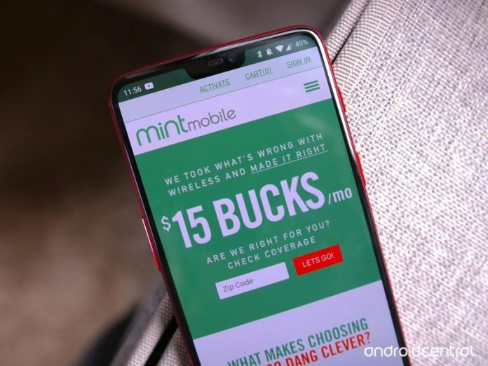 What network does Mint Mobile run on?