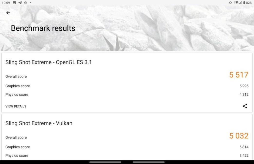 Microsoft Surface Duo 3DMark Score