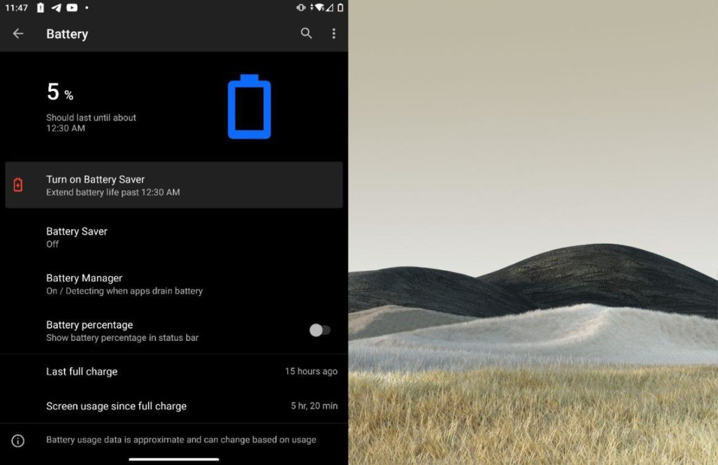 Microsoft Surface Duo battery life 2