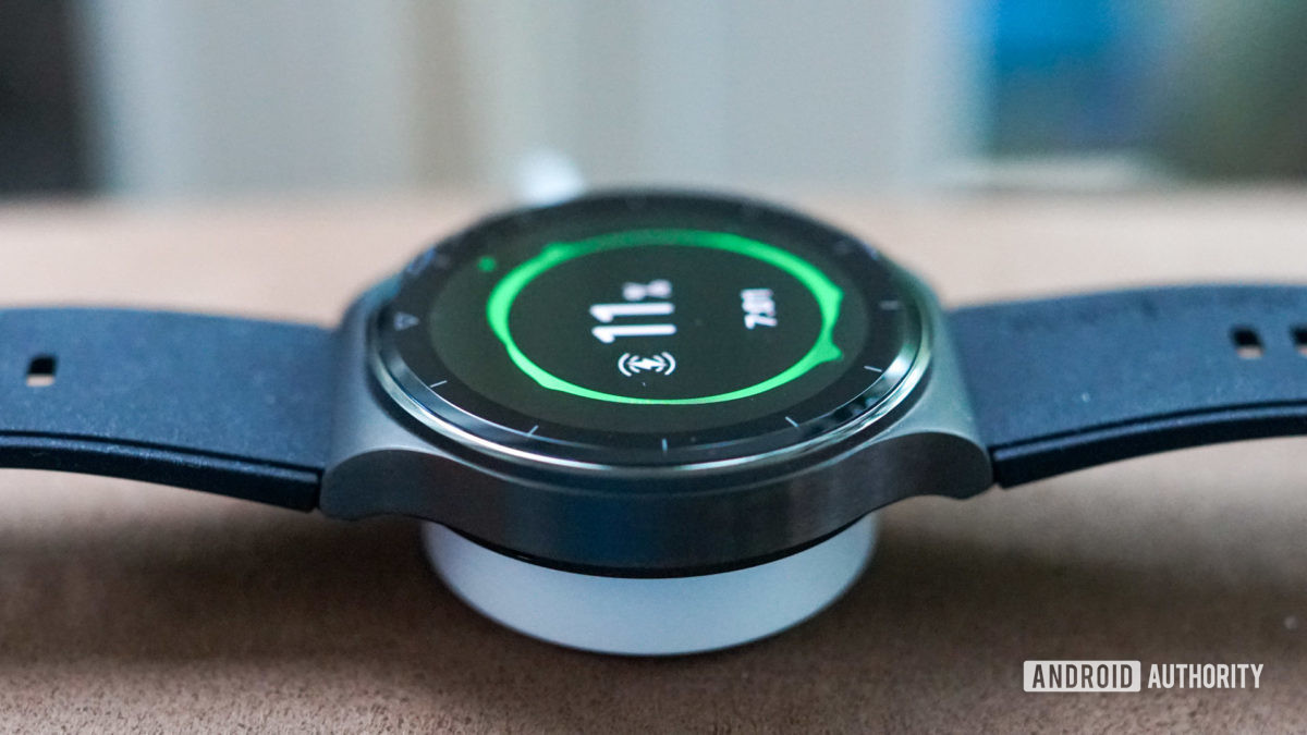 Huawei Watch GT 2 Pro smartwatch wireless charging