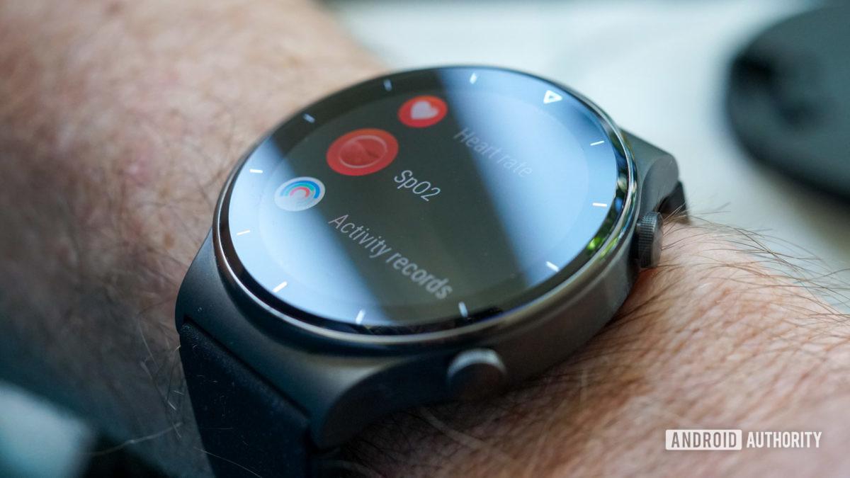 Huawei Watch GT 2 Pro SpO2 monitoring