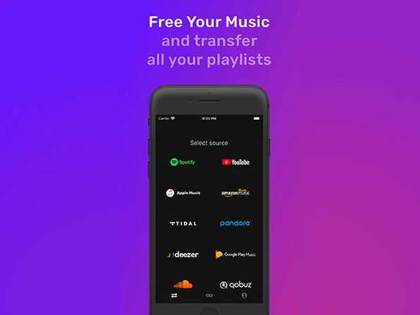 FreeYourMusic lets you transfer your playlists to all the major streaming services