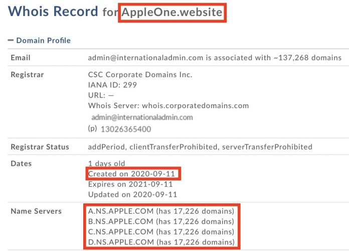 Apple Registers Multiple 'Apple One' Domain Names Ahead of Tuesday's Event