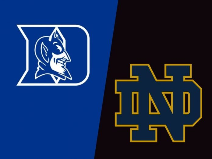 How to watch Duke vs. Notre Dame NCAA football online