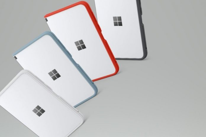 Surface Duo bumpers appear at Best Buy in rainbow of colors