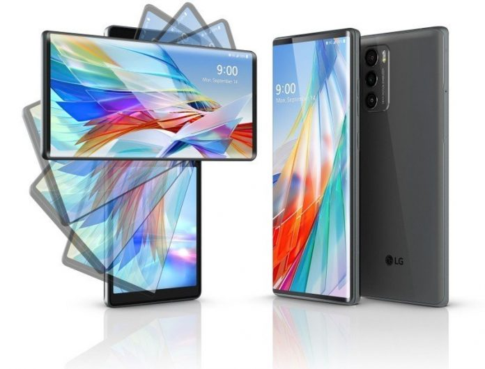 LG Wing 5G is a dual-screen phone with a unique design, mid-range specs