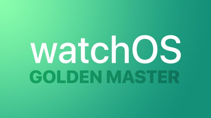 Apple Seeds Golden Master Version of watchOS 7 to Developers
