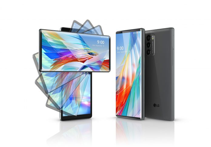 LG Wing arrives with swiveling two-screen experience