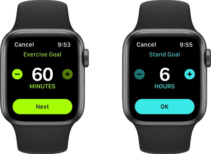 watchOS 7 Lets You Customize Stand Hours and Exercise Minutes