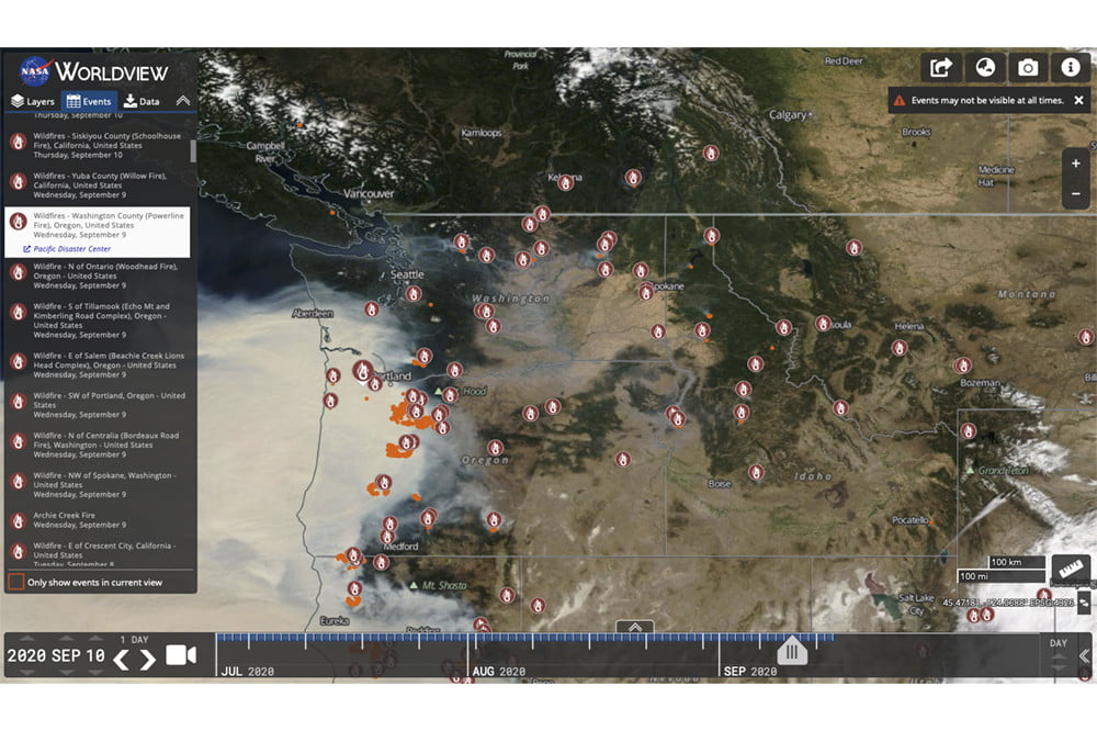 The best apps and websites for tracking wildfires