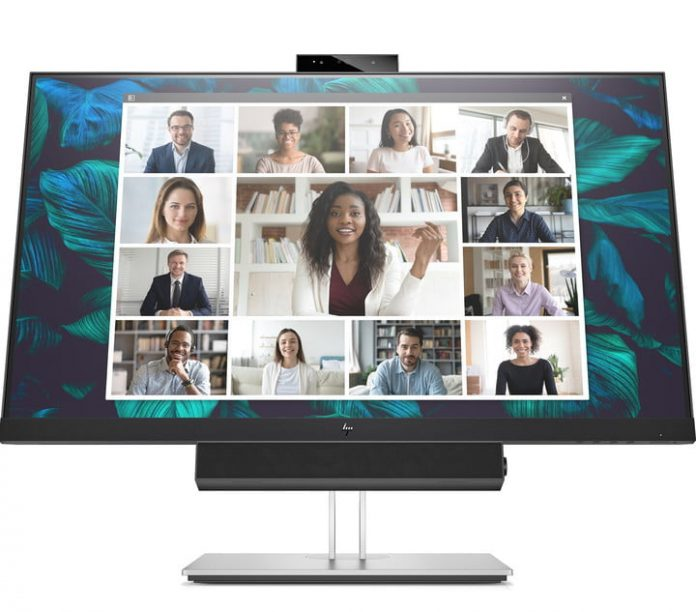 HP launches touchscreen, conferencing monitors designed for life on Zoom
