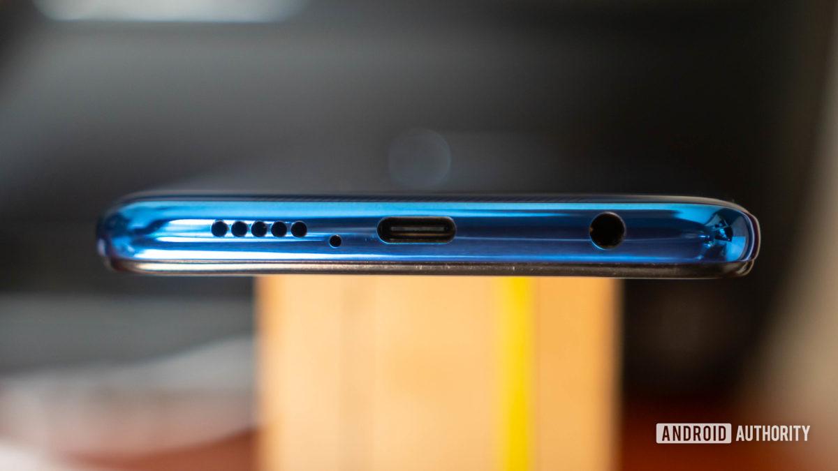 Xiaomi Poco X3 NFC bottom ports