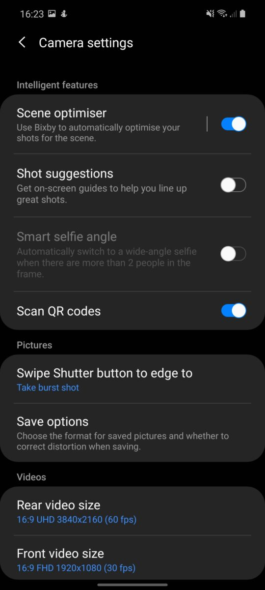 samsung galaxy note 20 screenshot camera app 3