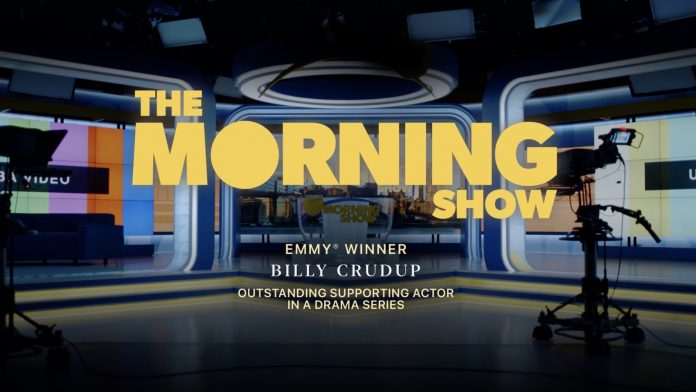 Apple TV+ Wins Its First Emmy With Billy Crudup in 'The Morning Show'