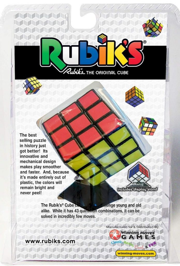 Grab one of the best Rubik's cubes you can get and get solving