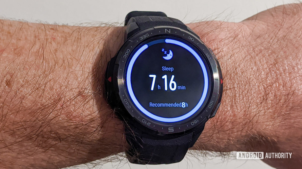 Honor Watch GS Pro sleep tracking watch face