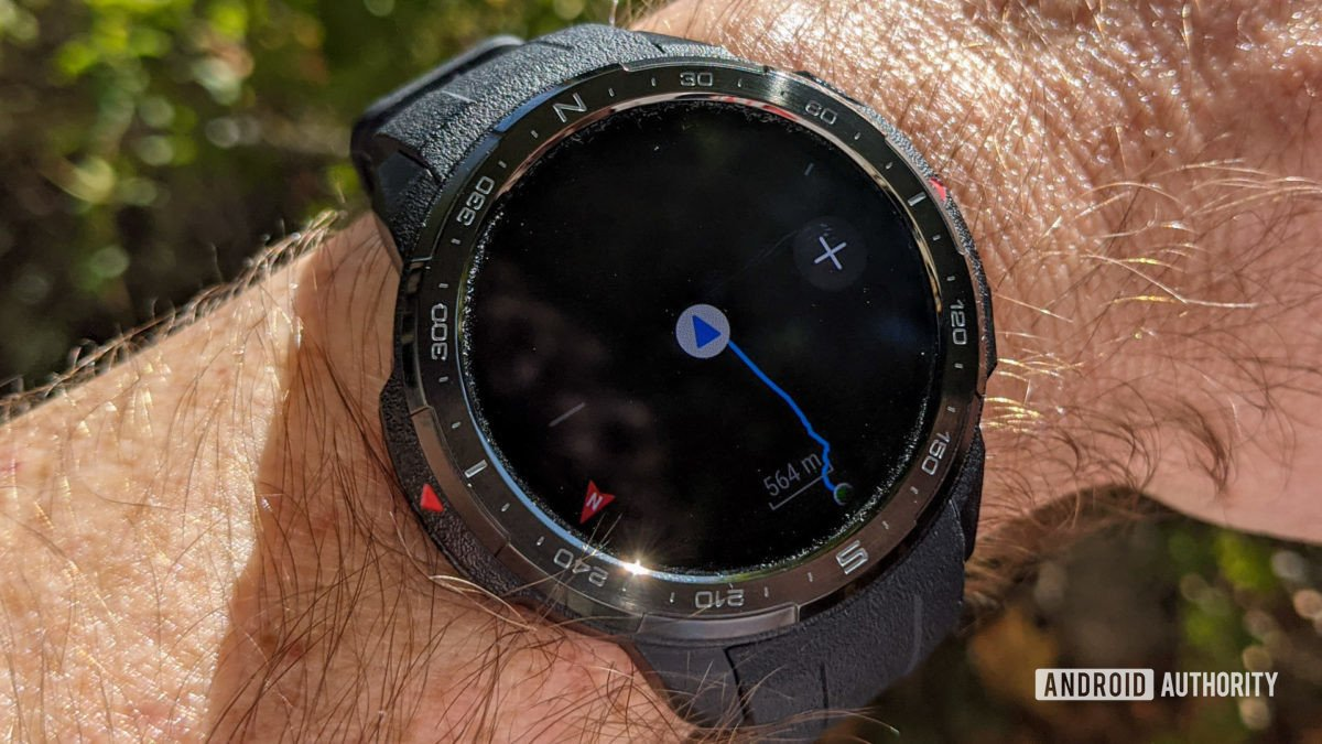 Honor Watch GS Pro Route Back wayfinding