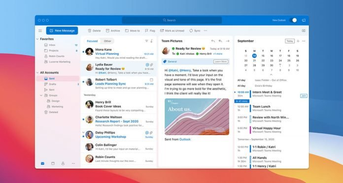 Outlook for Mac is now faster, more efficient, and far more beautiful