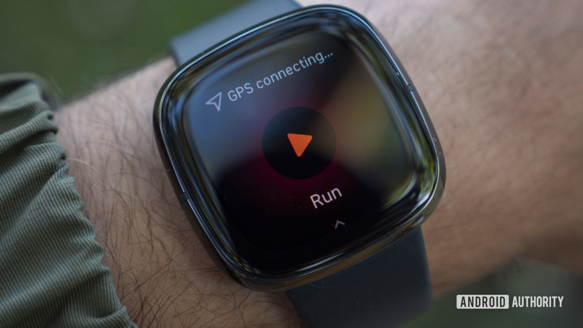 fitbit sense review gps connecting